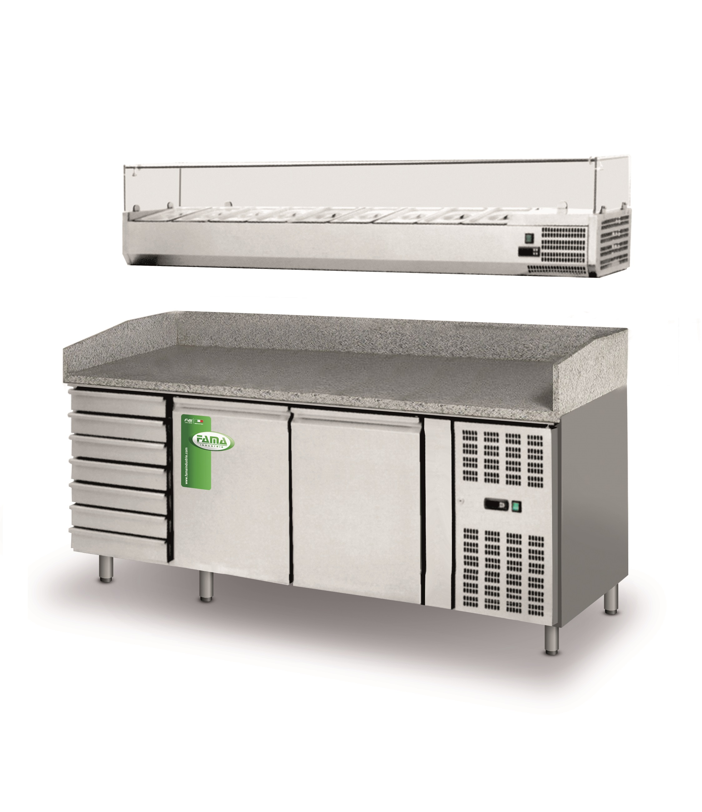Ventilated Refrigerated Counters Pizza